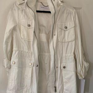 NWT Bcbg twill jacket